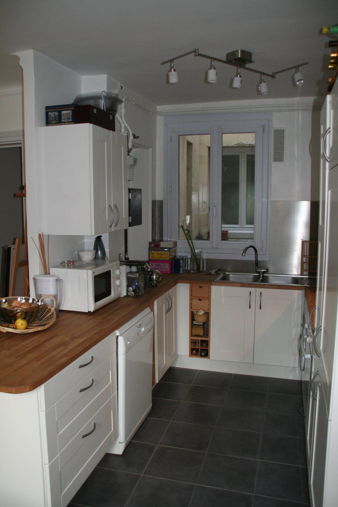 Appartement coup de coeur rue titon paris 11e for Cuisine americaine equipee